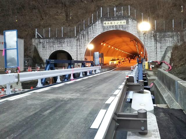 【中央アルプス】国道361号線(権兵衛トンネル)の仮復旧【登山口ナビ】