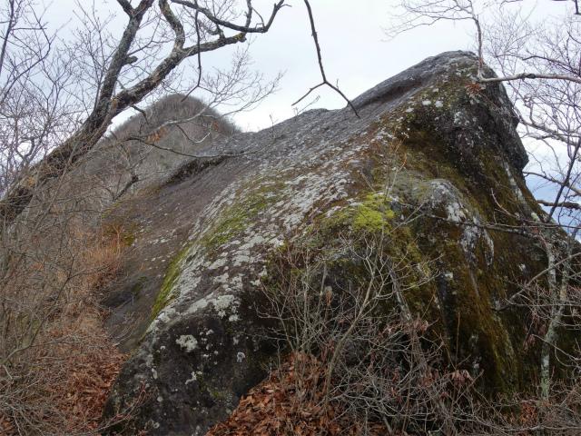 茅ヶ岳(金ヶ岳~千本桜公園) 登山口コースガイド 展望の巨岩【登山口ナビ】