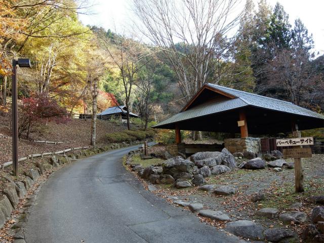 三頭山(サイグチ沢コース)登山口コースガイド 山のふるさと村バーベキューサイト【登山口ナビ】