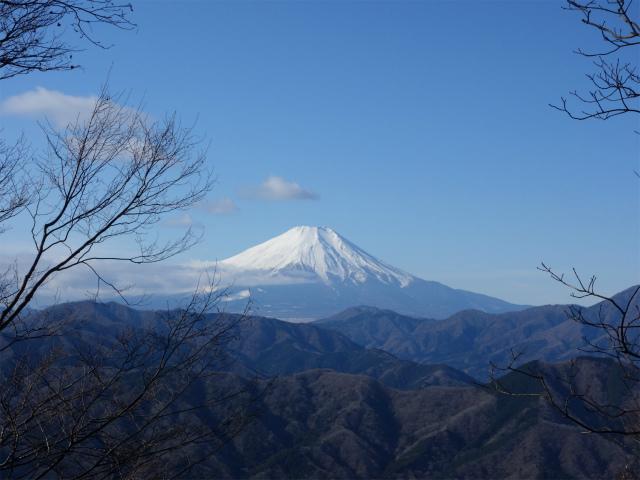 大室山(道志の湯~加入道山)登山口コースガイド 富士山の眺望【登山口ナビ】
