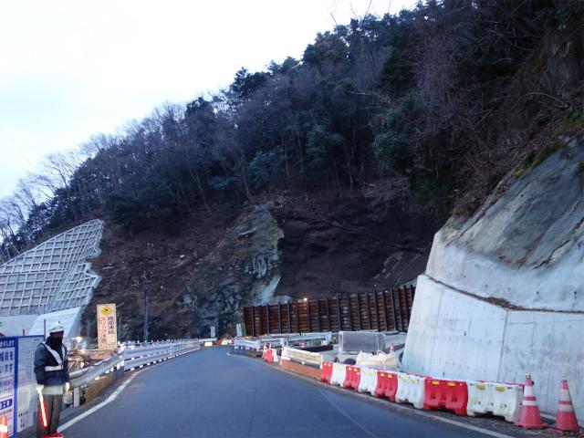 国道413号(道志みち)の通行止区間の仮橋による暫定開通【登山口ナビ】