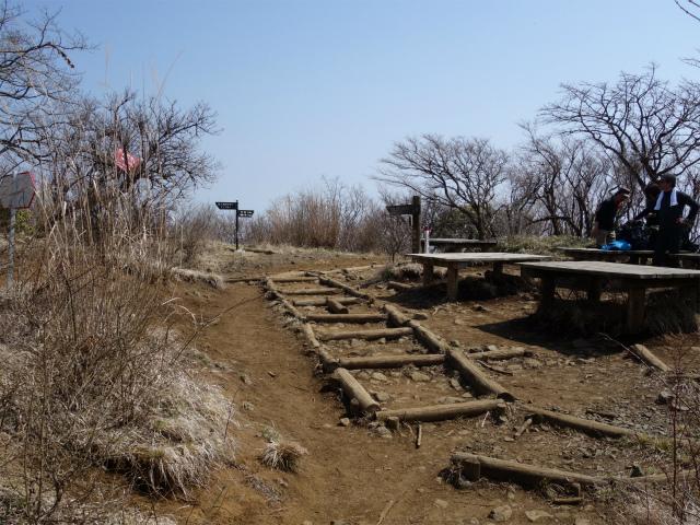 三ノ塔(BOSCO~ヨモギ平)登山口コースガイド 二ノ塔山頂【登山口ナビ】