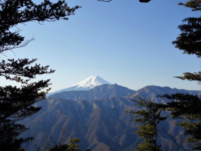 滝子山(南陵/寂ショウ尾根)登山口コースガイド 富士山【登山口ナビ】