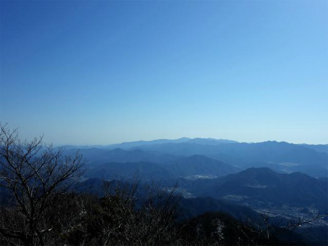滝子山(南陵/寂ショウ尾根)登山口コースガイド 山頂からの丹沢山地【登山口ナビ】