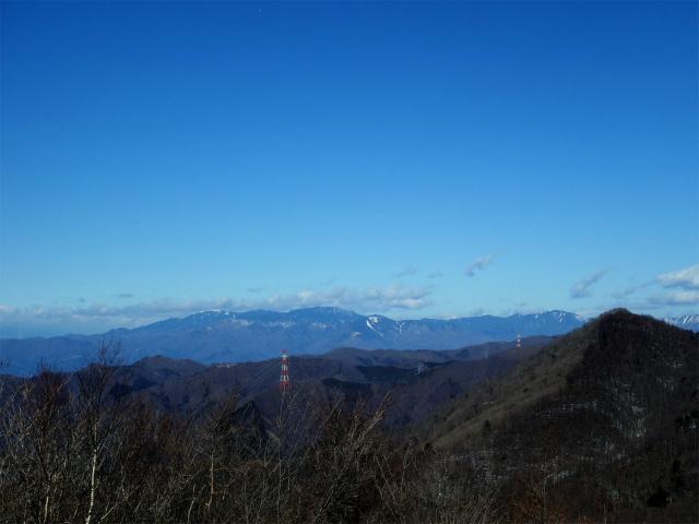 滝子山(南陵/寂ショウ尾根)登山口コースガイド 山頂からの奥秩父山塊【登山口ナビ】
