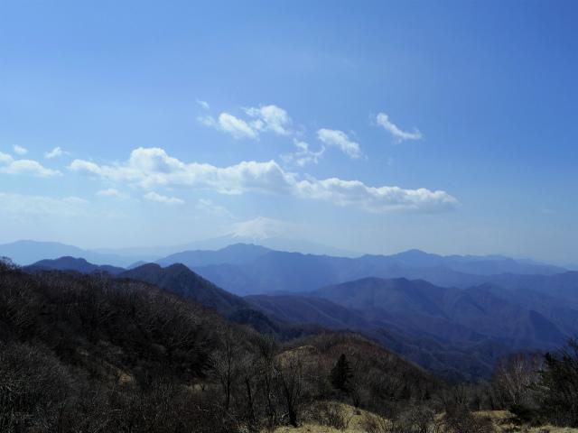 ハマイバ・大蔵高丸(道証地蔵~曲り沢峠)登山口コースガイド 草原からの富士山【登山口ナビ】