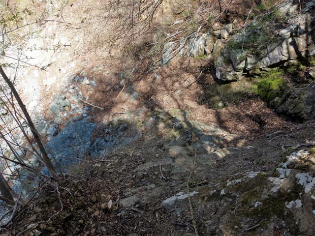 早戸大滝(最新版/台風19号後の状況)コースガイド 残置ロープ【登山口ナビ】