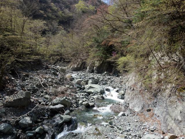 早戸大滝(最新版/台風19号後の状況)コースガイド 屈曲地点【登山口ナビ】