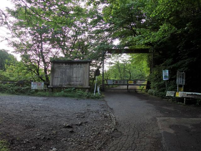 大山(日向~雷ノ峰尾根)登山口コースガイド 日向林道ゲート【登山口ナビ】