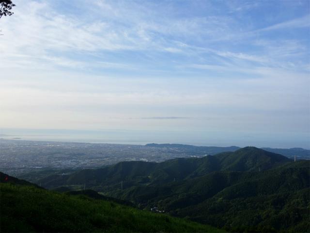 大山(日向~雷ノ峰尾根)登山口コースガイド 三浦半島や相模湾の眺望【登山口ナビ】