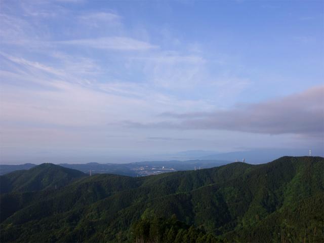大山(日向~雷ノ峰尾根)登山口コースガイド 相模湾の眺望【登山口ナビ】