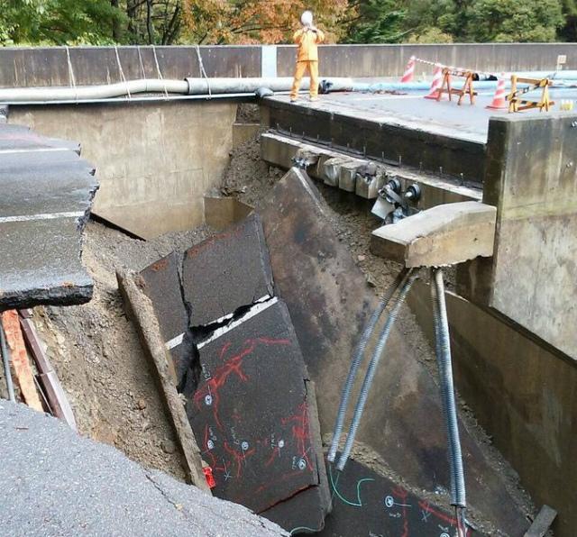【中央アルプス】国道361号線(権兵衛トンネル)の崩落箇所【登山口ナビ】