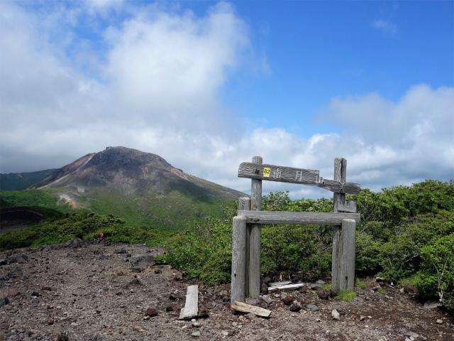 南月山(沼原~白笹山)登山口コースガイド 南月山山頂【登山口ナビ】