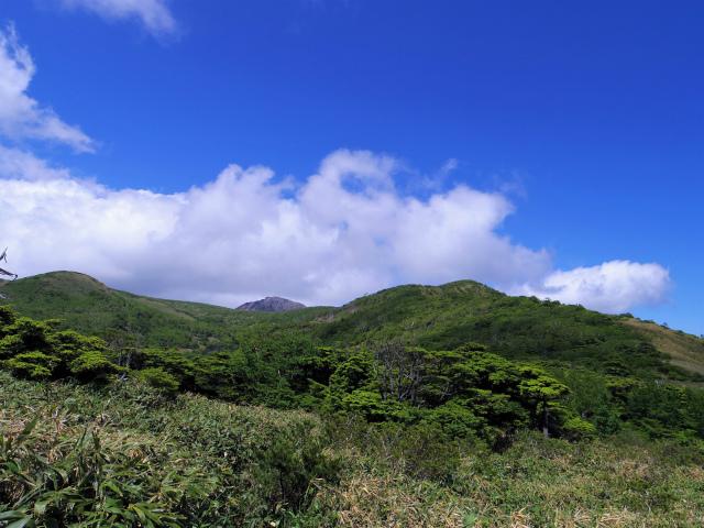 南月山(沼原~白笹山)登山口コースガイド 白笹山鞍部【登山口ナビ】