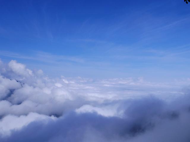 雲取山(霧藻ヶ峰・三峰ルート)登山口コースガイド 白岩小屋の展望台から秩父方面【登山口ナビ】