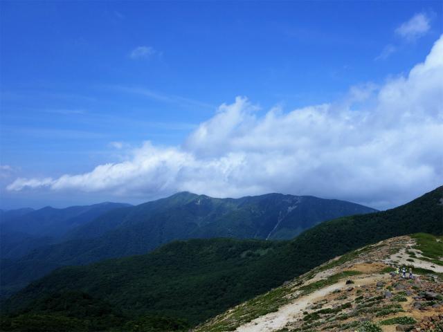 那須岳(茶臼岳~姥ヶ平)登山口コースガイド 牛ヶ首分岐からの眺望【登山口ナビ】