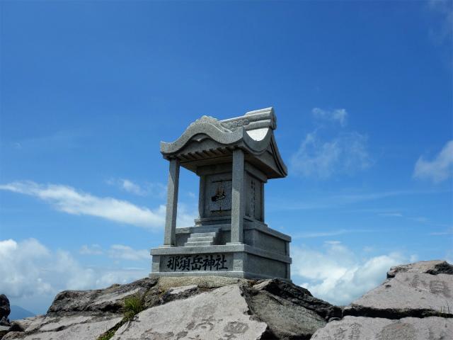 那須岳(茶臼岳~姥ヶ平)登山口コースガイド 那須岳神社【登山口ナビ】