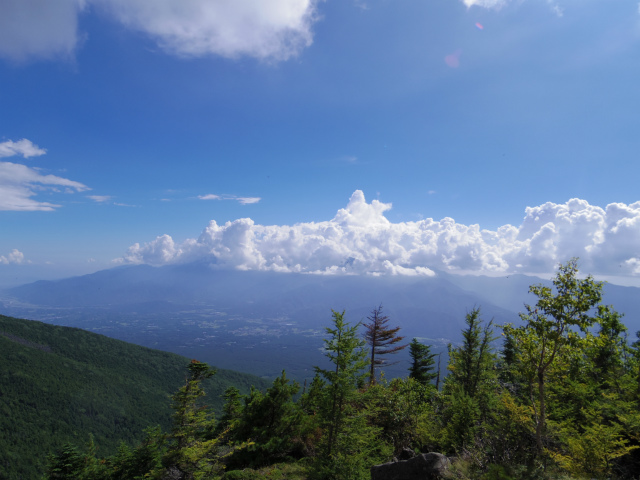 八ヶ岳・権現岳(西岳~源治新道)登山口コースガイド 西岳山頂からの南アルプス【登山口ナビ】