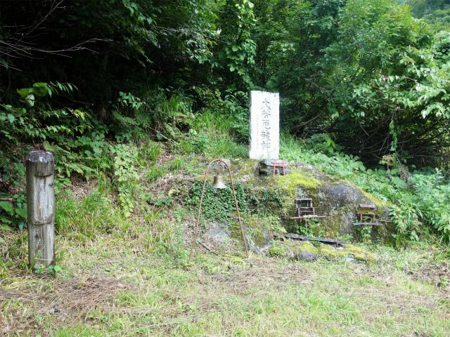 八海山(阿寺山~五竜岳~入道岳)登山口コースガイド 龍神碑【登山口ナビ】