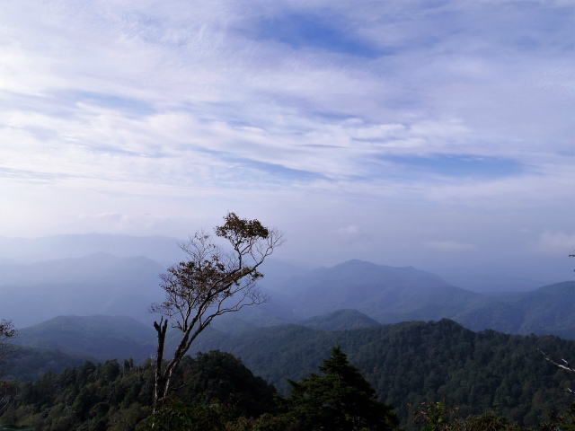 武尊山(不動岳~川場剣ヶ峰)登山口コースガイド 露岩のピークからの眺望 【登山口ナビ】