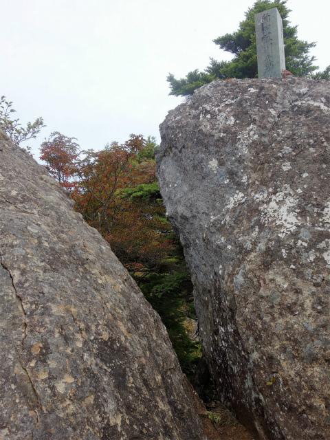武尊山(不動岳~川場剣ヶ峰)登山口コースガイド 石碑【登山口ナビ】
