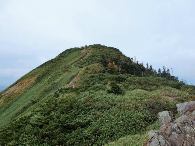 武尊山(不動岳~川場剣ヶ峰)登山口コースガイド 山頂手前【登山口ナビ】