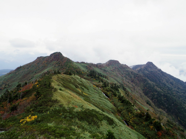 武尊山(不動岳~川場剣ヶ峰)登山口コースガイド 中ノ岳稜線【登山口ナビ】