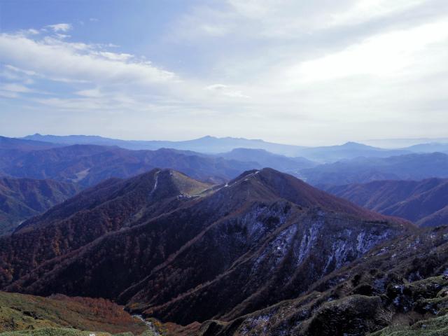 谷川岳 トマノ耳/オキノ耳(西黒尾根)登山口コースガイド 天神平や赤城山の眺望【登山口ナビ】