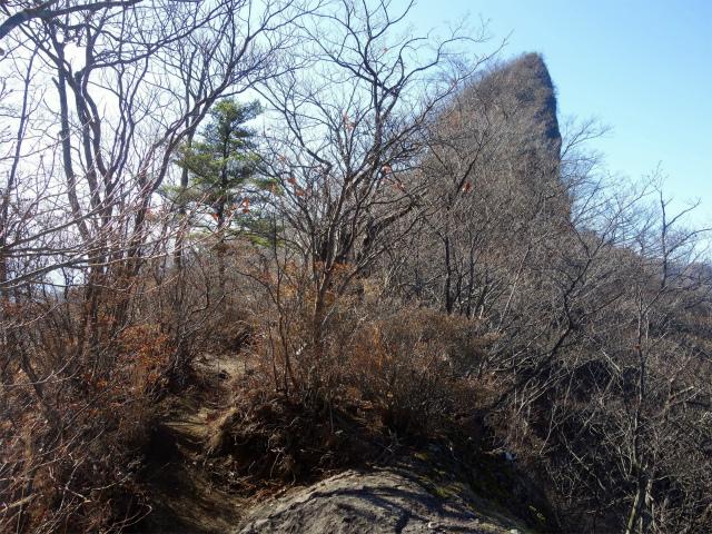 裏妙義・丁須の頭(籠沢コース~三方境周回)登山口コースガイド 烏帽子岩【登山口ナビ】