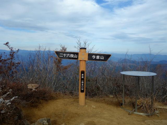 今倉山・高岩(道坂峠~パラジマ沢コース)登山口コースガイド 赤岩山頂【登山口ナビ】
