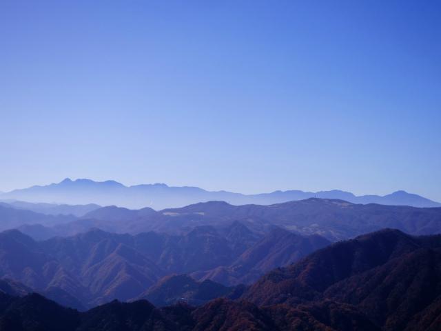 谷急山(旧国民宿舎~三方境)登山口コースガイド 谷急山山頂からの八ヶ岳【登山口ナビ】