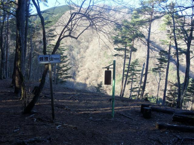 大室山(折花橋~鐘撞山)登山口コースガイド 鐘撞山山頂【登山口ナビ】