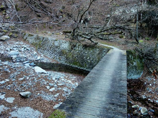 大室山(用木沢出合~犬越路コース) 登山口コースガイド 橋【登山口ナビ】