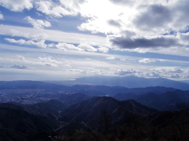 塔ノ岳(二俣~小丸尾根)登山口コースガイド 小丸分岐から箱根の眺望【登山口ナビ】