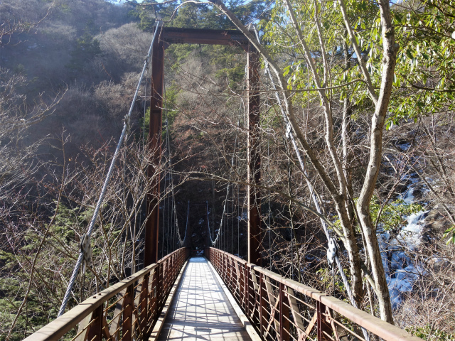 三頭山(大滝~石山~深山の路)滝見橋【登山口ナビ】