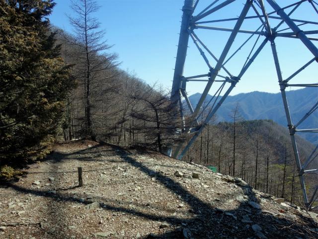 笹子雁ヶ腹摺山(笹子峠)登山口コースガイド 送電線鉄塔下【登山口ナビ】