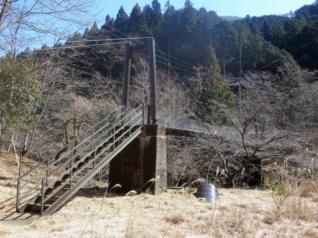 大山(札掛~大山北尾根)登山口コースガイド ふだかけ吊橋【登山口ナビ】