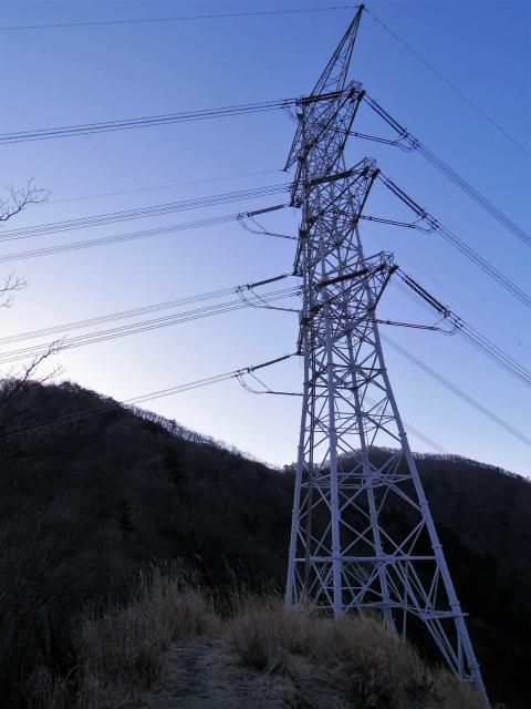 大山(地獄沢橋~大山北尾根)登山口コースガイド 送電線鉄塔【登山口ナビ】