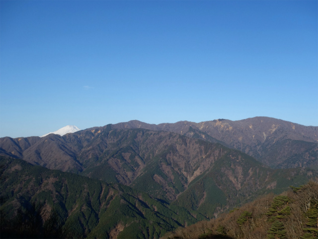 大山(地獄沢橋~大山北尾根)登山口コースガイド ミズヒノ頭の塔ノ岳・丹沢山の稜線【登山口ナビ】