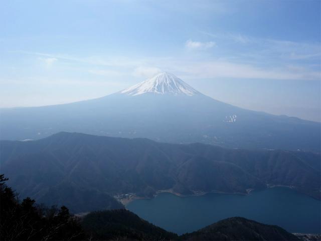 鬼ヶ岳(淵坂峠~毛無山~十二ヶ岳)登山口コースガイド 十二ヶ岳山頂からの富士山【登山口ナビ】