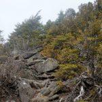 黒金山(徳和~乾徳山)登山口コースガイド 露岩【登山口ナビ】