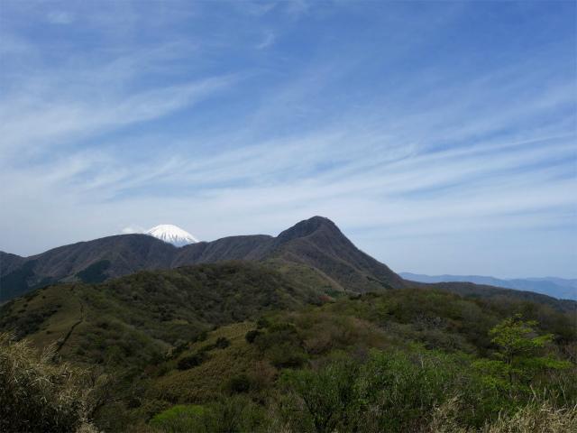 明神ヶ岳(金時見晴パーキング・火打石岳)ピークからの富士山【登山口コースガイド】