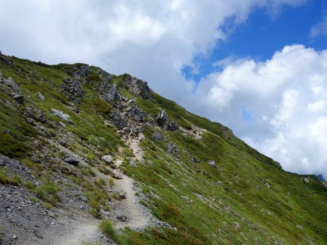 北岳(右俣コース)登山口コースガイド 稜線【登山口ナビ】
