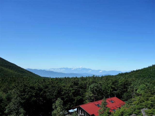 八ヶ岳・中山(麦草峠~白駒池周回)登山口コースガイド 高見石から諏訪の眺望【登山口ナビ】