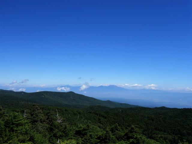 八ヶ岳・中山(麦草峠~白駒池周回)登山口コースガイド 高見石からの眺望【登山口ナビ】