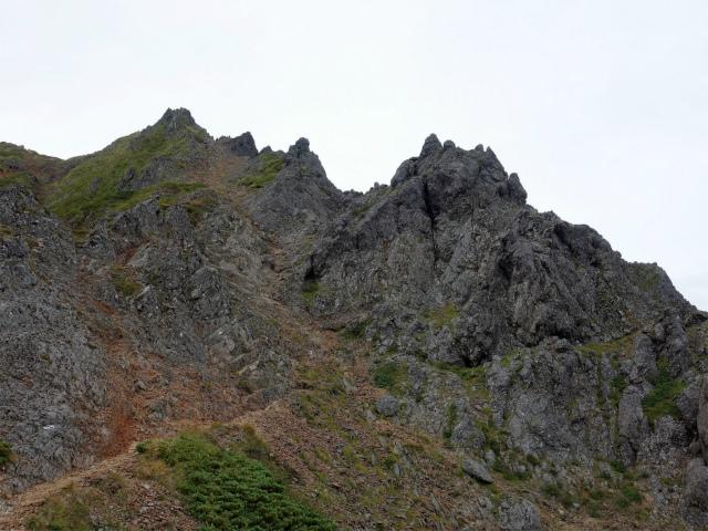 八ヶ岳・赤岳(地獄谷~ツルネ東陵)登山口コースガイド 岩峰群【登山口ナビ】
