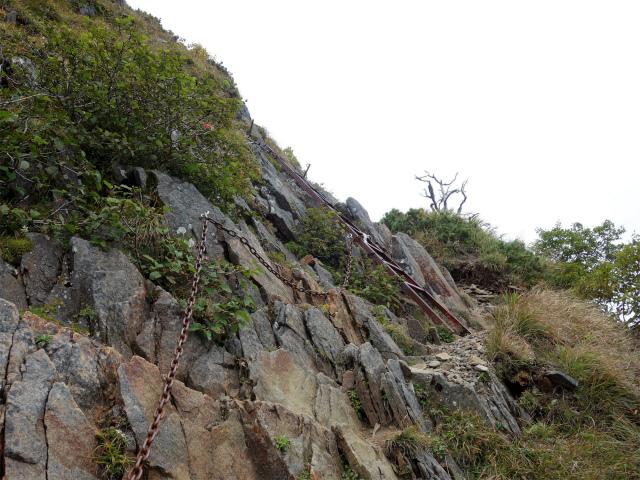 八ヶ岳・赤岳(地獄谷~ツルネ東陵)登山口コースガイド 鎖場【登山口ナビ】