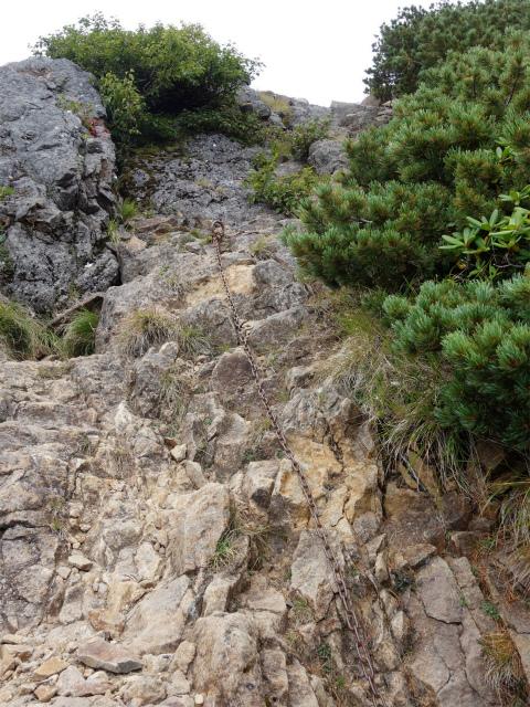 八ヶ岳・赤岳(天狗尾根) 登山口コースガイド 竜頭峰の鎖場【登山口ナビ】