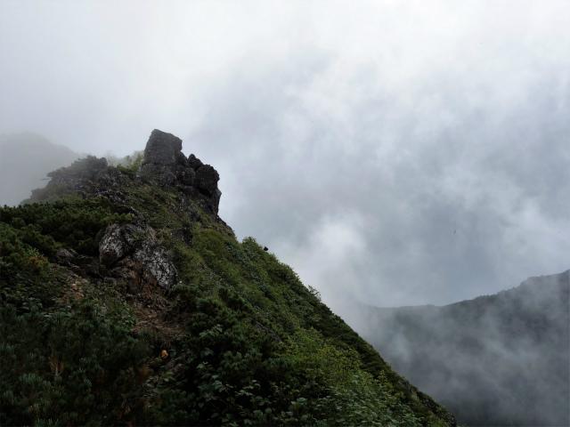 八ヶ岳・権現岳(地獄谷~ツルネ東陵)登山口コースガイド 旭岳ピーク【登山口ナビ】