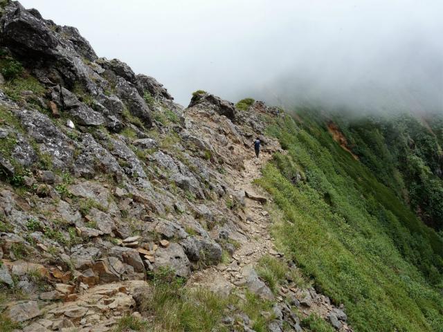 八ヶ岳・権現岳(地獄谷~ツルネ東陵)登山口コースガイド 稜線トラバース【登山口ナビ】